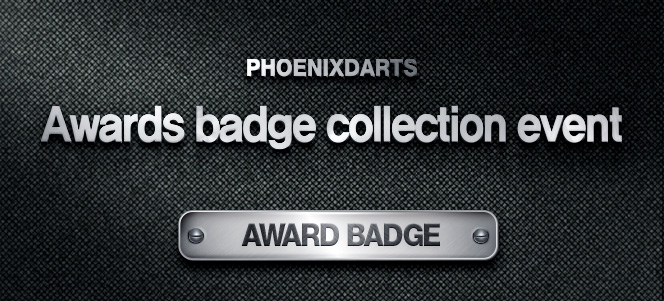 AWARD BADGE COLLECTION EVENT