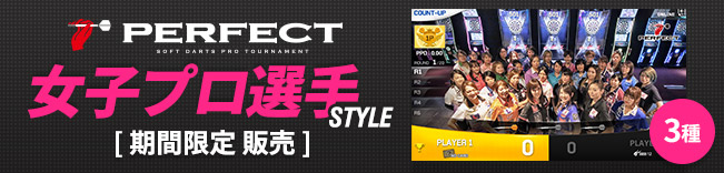 PERFECT 女子プロ選手 STYLE